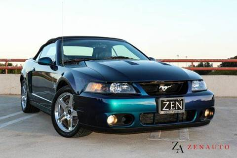 2004 Ford Mustang SVT Cobra for sale at Zen Auto Sales in Sacramento CA