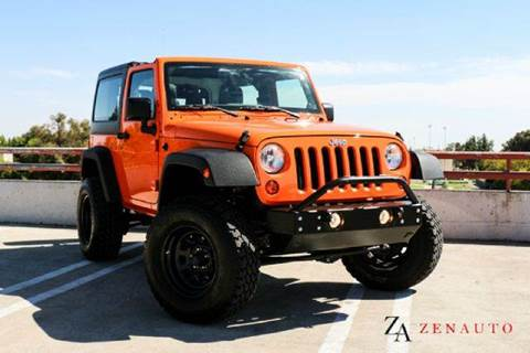 2012 Jeep Wrangler for sale at Zen Auto Sales in Sacramento CA