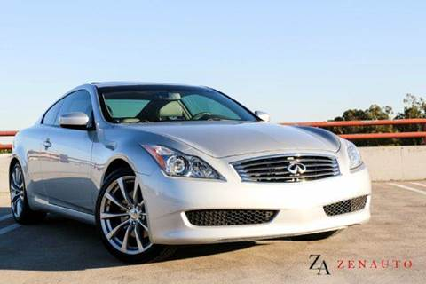 2010 Infiniti G37 Coupe for sale at Zen Auto Sales in Sacramento CA