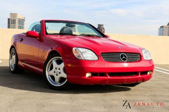2000 Mercedes-Benz Slk-Class SLK230 Supercharged Hardtop Convertible ...