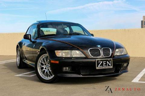 2001 BMW Z3 for sale at Zen Auto Sales in Sacramento CA