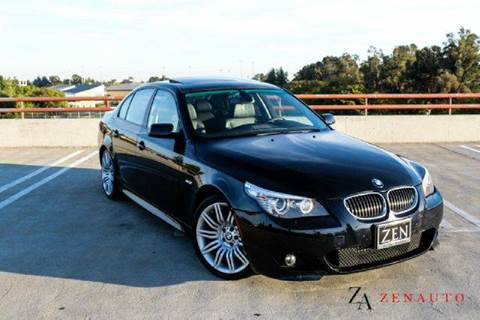 2008 BMW 5 Series for sale at Zen Auto Sales in Sacramento CA