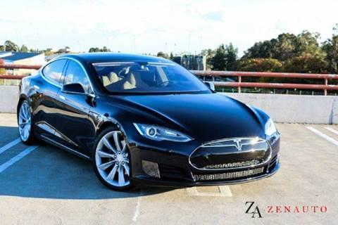 2013 Tesla Model S for sale at Zen Auto Sales in Sacramento CA