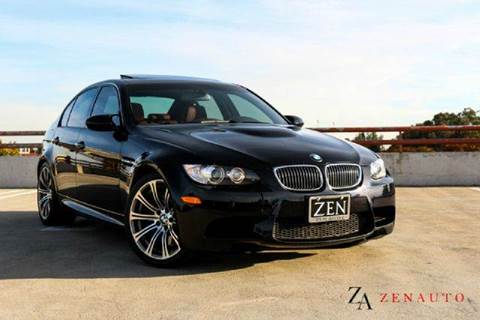 2009 BMW M3 for sale at Zen Auto Sales in Sacramento CA