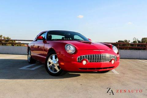 2003 Ford Thunderbird for sale at Zen Auto Sales in Sacramento CA