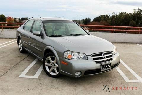 2003 Nissan Maxima for sale at Zen Auto Sales in Sacramento CA