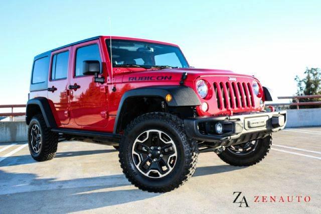 2014 Jeep Wrangler Unlimited Rubicon X 4x4 4dr SUV   Sacramento CA