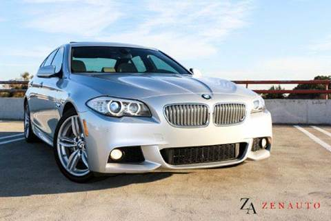 2011 BMW 5 Series for sale at Zen Auto Sales in Sacramento CA