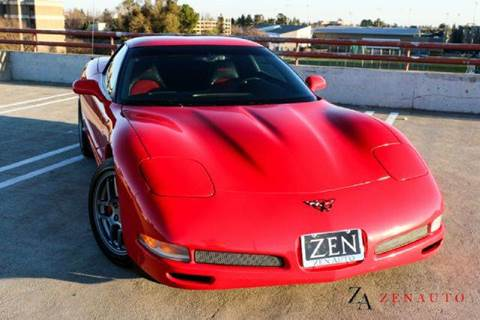 2001 Chevrolet Corvette for sale at Zen Auto Sales in Sacramento CA