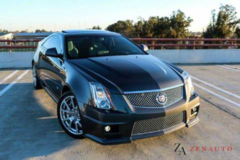 2012 Cadillac CTS-V for sale at Zen Auto Sales in Sacramento CA