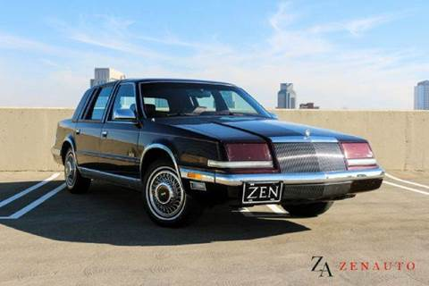 1990 Chrysler Imperial for sale at Zen Auto Sales in Sacramento CA
