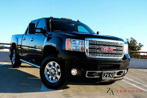 2011 GMC Sierra 3500HD for sale at Zen Auto Sales in Sacramento CA