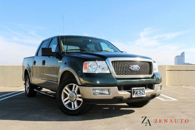 2005 Ford F 150 Lariat 4dr Supercrew Rwd Styleside 55 Ft
