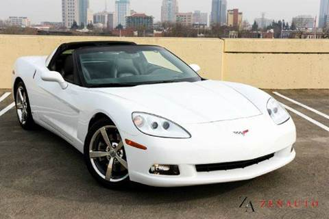 2008 Chevrolet Corvette for sale at Zen Auto Sales in Sacramento CA
