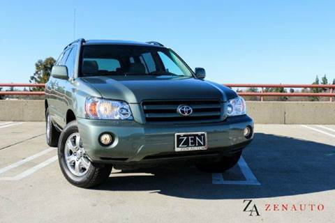 2007 Toyota Highlander for sale at Zen Auto Sales in Sacramento CA