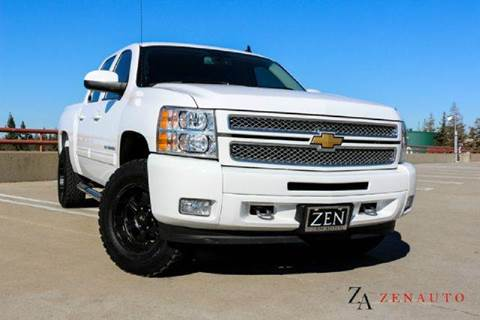 2013 Chevrolet Silverado 1500 for sale at Zen Auto Sales in Sacramento CA