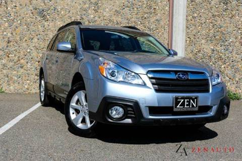 2014 Subaru Outback for sale at Zen Auto Sales in Sacramento CA