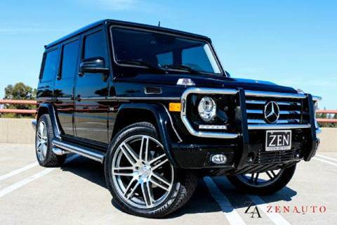 2013 Mercedes-Benz G-Class for sale at Zen Auto Sales in Sacramento CA