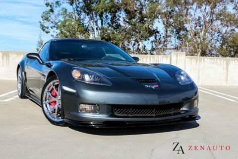 2009 Chevrolet Corvette for sale at Zen Auto Sales in Sacramento CA