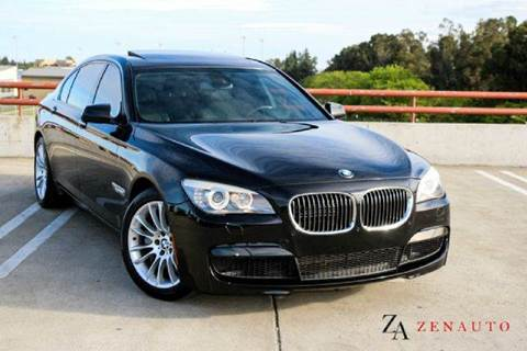 2012 BMW 7 Series for sale at Zen Auto Sales in Sacramento CA
