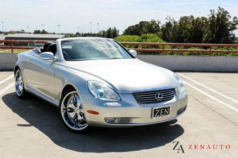 2004 Lexus SC 430 for sale at Zen Auto Sales in Sacramento CA