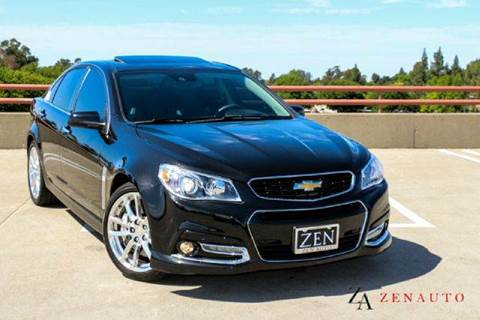 2014 Chevrolet SS for sale at Zen Auto Sales in Sacramento CA
