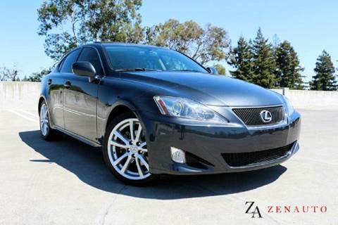 2006 Lexus IS 250 for sale at Zen Auto Sales in Sacramento CA