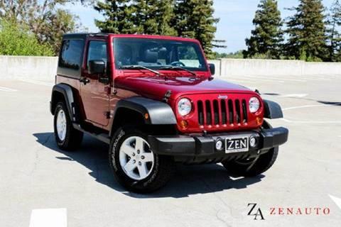 2011 Jeep Wrangler for sale at Zen Auto Sales in Sacramento CA
