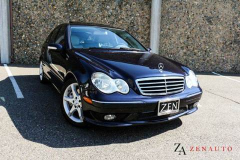 2007 Mercedes-Benz C-Class for sale at Zen Auto Sales in Sacramento CA