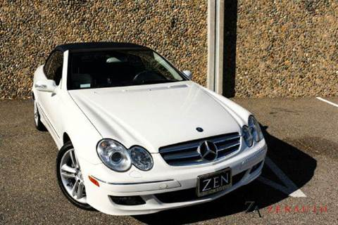 2006 Mercedes-Benz CLK for sale at Zen Auto Sales in Sacramento CA