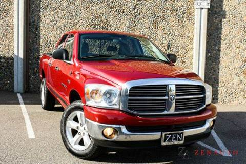 2007 Dodge Ram Pickup 1500 for sale at Zen Auto Sales in Sacramento CA