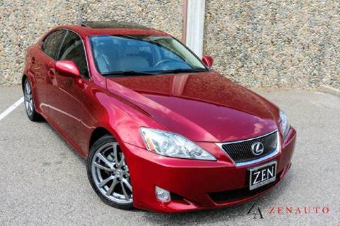 2008 Lexus IS 250 for sale at Zen Auto Sales in Sacramento CA