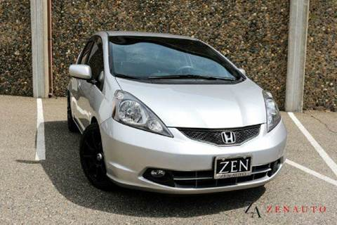 2013 Honda Fit for sale at Zen Auto Sales in Sacramento CA