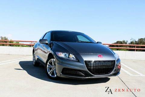 2013 Honda CR-Z for sale at Zen Auto Sales in Sacramento CA