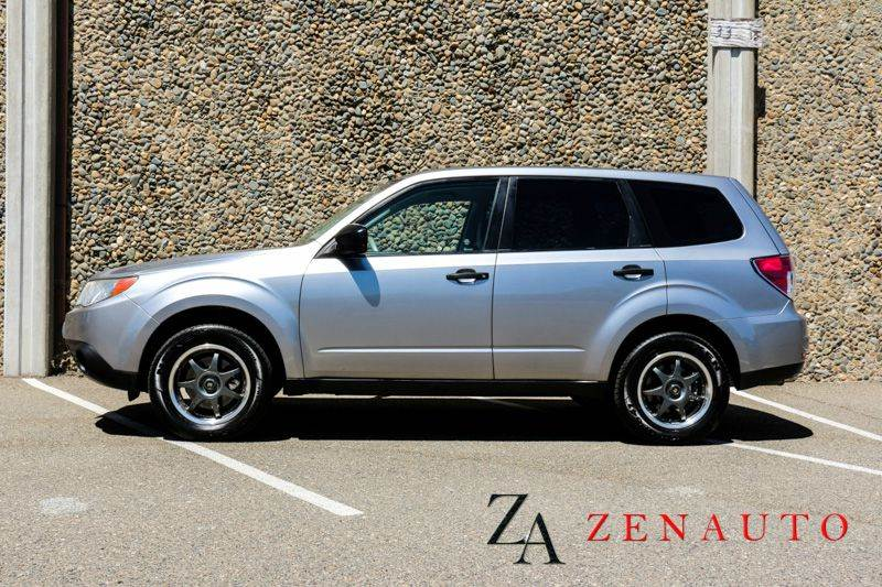 2009 subaru forester 2 5 x awd 4dr wagon 4a automatic 4x4 in sacramento ca zen auto sales. Black Bedroom Furniture Sets. Home Design Ideas