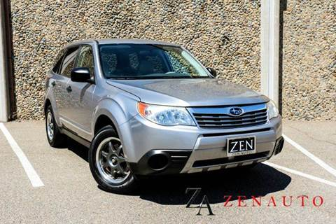 2009 Subaru Forester for sale at Zen Auto Sales in Sacramento CA
