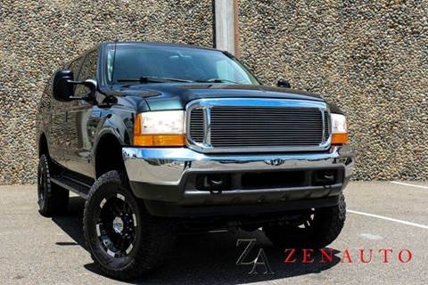 2000 Ford Excursion for sale at Zen Auto Sales in Sacramento CA