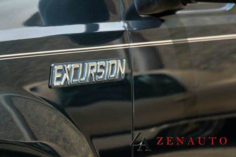 2000 Ford Excursion Xlt 4dr 4wd Suv Custom Lifted Dvd 3rd Row In