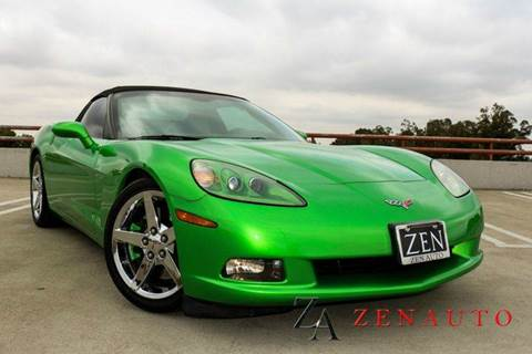 2006 Chevrolet Corvette for sale at Zen Auto Sales in Sacramento CA