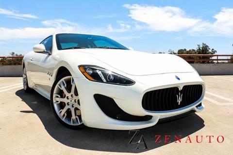 2014 Maserati GranTurismo for sale at Zen Auto Sales in Sacramento CA