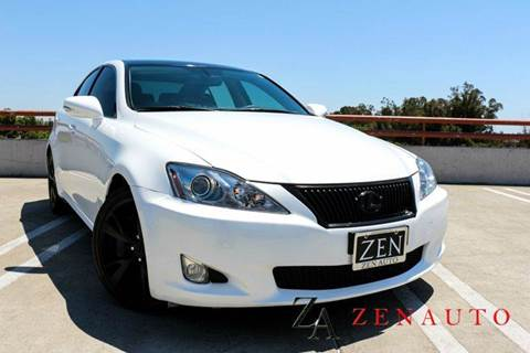 2010 Lexus IS 350 for sale at Zen Auto Sales in Sacramento CA