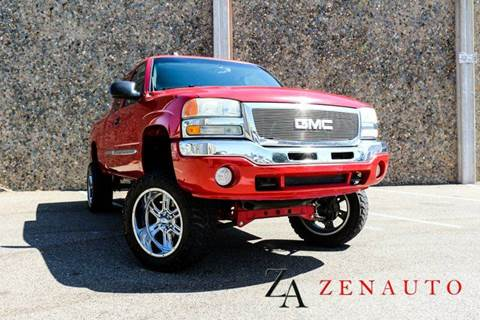 2004 GMC Sierra 1500 for sale at Zen Auto Sales in Sacramento CA