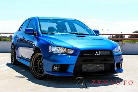2012 Mitsubishi Lancer Evolution for sale at Zen Auto Sales in Sacramento CA