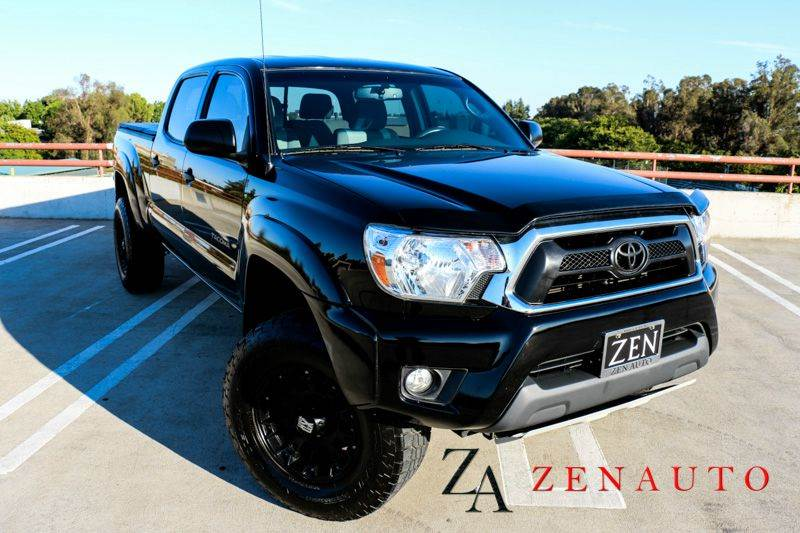 2013 toyota tacoma v6 4x4 4dr double cab 6 1 ft lb 5a custom blacked out lifted long bed 4x4 in. Black Bedroom Furniture Sets. Home Design Ideas