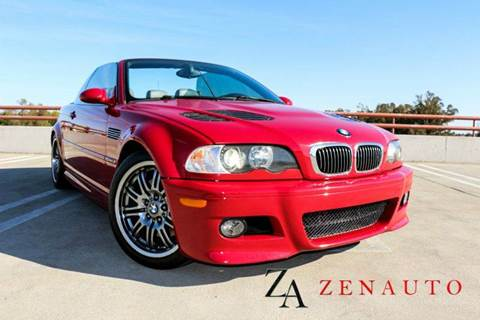 2002 BMW M3 for sale at Zen Auto Sales in Sacramento CA