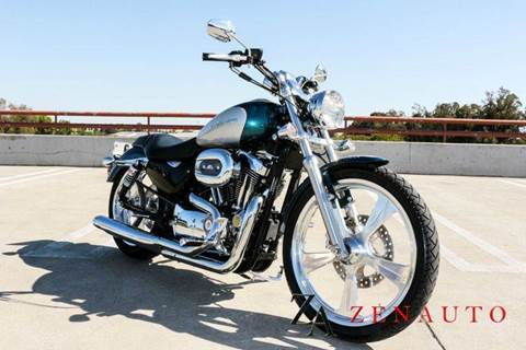 2004 Harley-Davidson Sportster XL 1200 Custom Stage for sale at Zen Auto Sales in Sacramento CA
