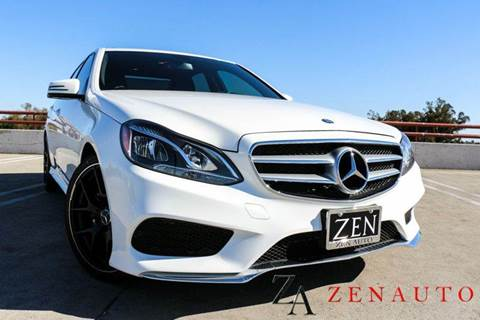 2014 Mercedes-Benz E-Class for sale at Zen Auto Sales in Sacramento CA