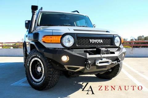2013 Toyota FJ Cruiser for sale at Zen Auto Sales in Sacramento CA
