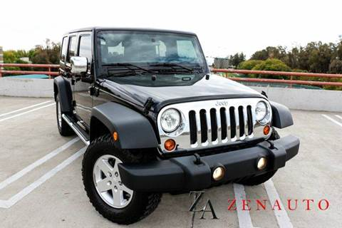2011 Jeep Wrangler Unlimited for sale at Zen Auto Sales in Sacramento CA