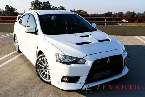 2011 Mitsubishi Lancer Evolution for sale at Zen Auto Sales in Sacramento CA